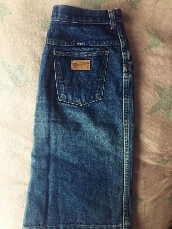 Spódnice jeansowa spódnica wrangler M HIT