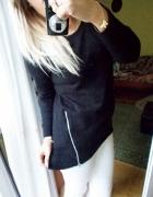 Bawełniana bluza Sinsay zamki zip