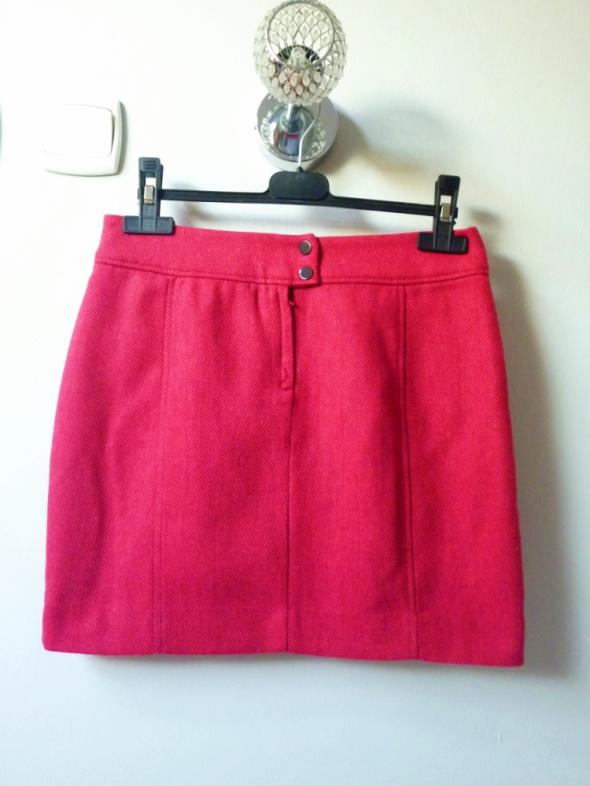 Spódnice Różowa spódnoczka H&M w jodełkę