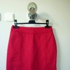 Różowa spódnoczka H&M w jodełkę