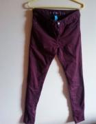 Spodnie bordowe S...