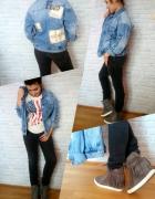 Modna jeansowa katana...
