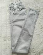 szare spodnie PROMOD...