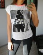 ozdobna koszulka S M nowa...