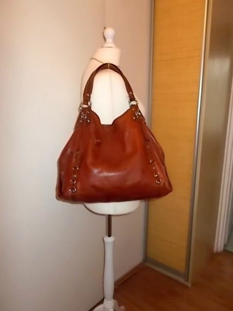 modna torebka ze skóry naturalnej A4