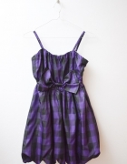 Lindex sukienka w kratę bombka nowa 164 cm...