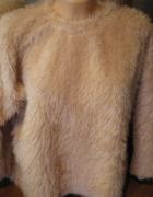 sweter bluzka włochacz