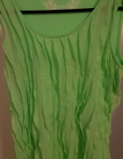 zielona bluzeczka na ramiączkach ORSAY...