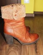 Zimowe buty na obcasie Jennifer 38...