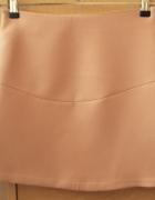 Spódniczka mini 36 łososiowy kolor Zara...
