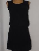 Czarna sukienka dresowa Takko Rozmiar 42...