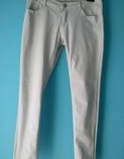 spodnie sinsay M jasno szare