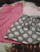 mega paczka ubranka dla dziewczynki