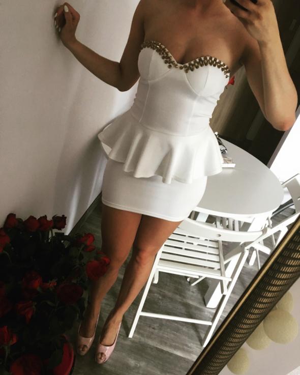 Eleganckie h&m perełka Elegancka Stylizacja