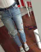 H and M boyfriend jeans 38