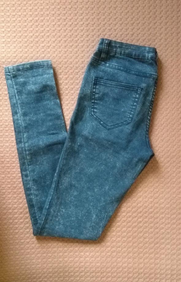 Spodnie Spodnie rurki jeansy skinny vila clothes marmurki