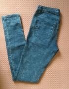 Spodnie rurki jeansy skinny vila clothes marmurki...