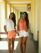 summer orange and white