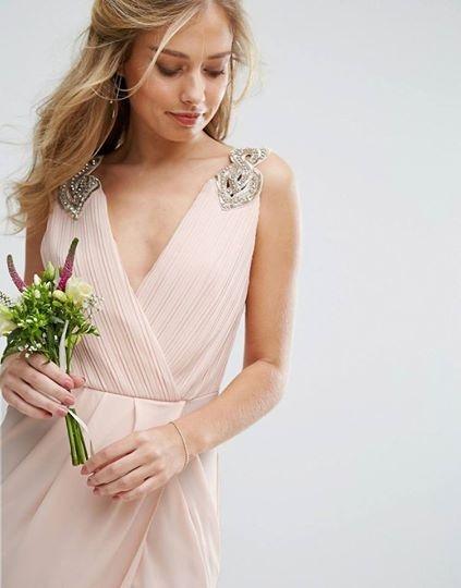 Suknie i sukienki Asymetryczna sukienka TFNC