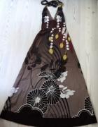 Sukienka na plaze dluga Warehouse 38 40 nowa