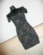 piękna elegancka sukienka w orientalnym stylu...