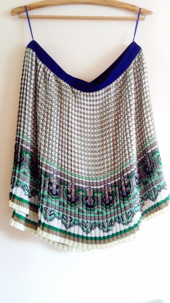 Spódnice Plisowana spódniczka Zara
