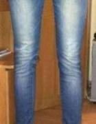 Jeansy z gumka