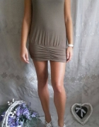 MOTIVI khaki sukienka mini L...