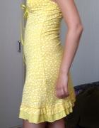 Żółta sukienka na lato rozmiar S jak NOWA