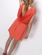 Explosion włoska sukienka bez pleców