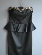 czarna elegancka z baskinka L