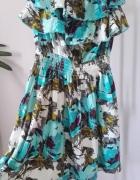 Letnia kwiecista sukienka Top Secret S
