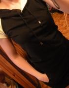Sukienka dresowa kaptur M
