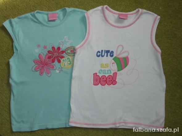 Dwie koszulki na lato BDB STAN