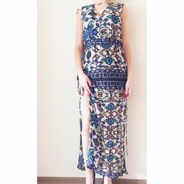 Suknie i sukienki Maxi ZARA