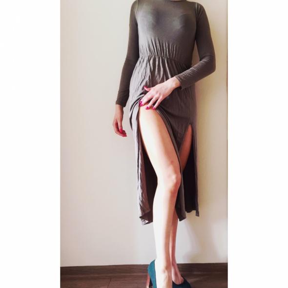Suknie i sukienki Missguided maxi