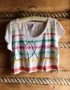 Koszulka tshirt bluzka z krótkim rękawem nadruk