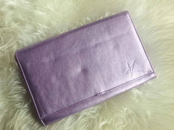 8c2ac892ffccb torebka mała kopertówka połyskliwa fioletowa w Torebki wieczorowe ...