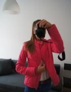 Nowa kurtka różowa BPC pikowana złote zamki SM