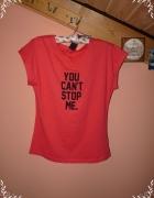 Nowa bluzka tshirt fitnes XS S M
