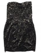 STRADIVARIUS sukienka na sylwester koronka xs...