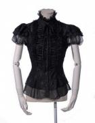 Viktorianische Steampunk Gothic Bluse...
