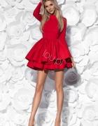 Czerwona sukienka LOU