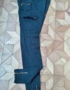 spodnie bojówki rurki...