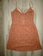 Sukienka Stradivarius koronkowa L letniasexy