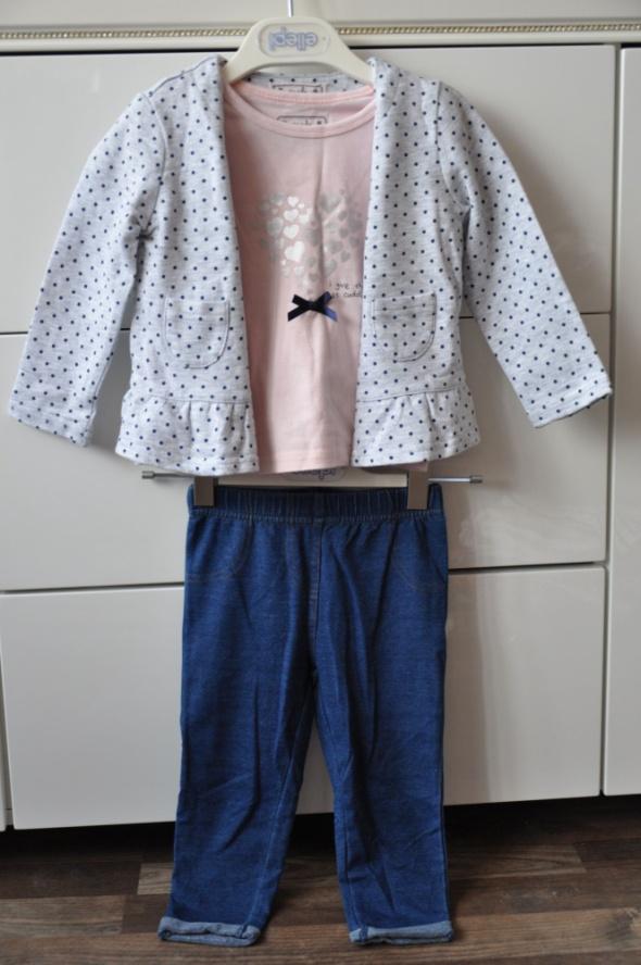 Piękny modny komplet dla dziewczynki...