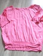 Łososiowa bluzeczka