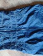 jeansowa krótka sukienka Troll