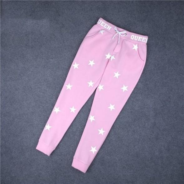 spodnie dresowe róż pastel must have...