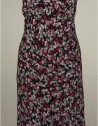Marks&Spencer sukienka łączka skosy cudna 44 46...